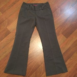 Alice + Olivia Wide Leg Trouser Pinstripe Pants 4